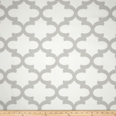 Premier Prints Fynn White/French Grey