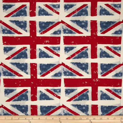 Premier Prints Union Jack Macon Premier Navy