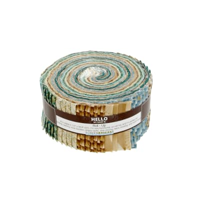 """Kaufman Imperial Collection Spring 2.5"""" Jelly Roll Multi"""