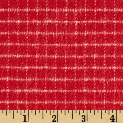 Primo Country Squire Flannel Check Red
