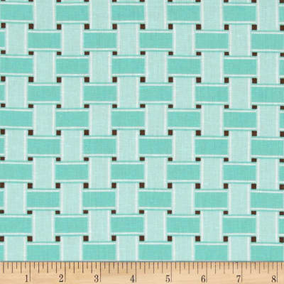 Linen/Cotton Blend Folly Weave Tidal Pool