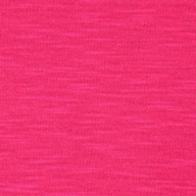 Soft Slub Jersey Knit Hot Fuchsia