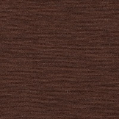 Jersey Cotton Slub Knit Dark Brown
