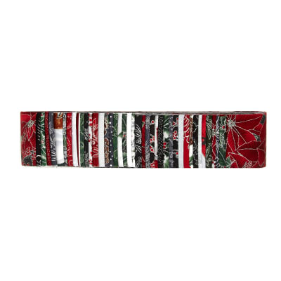 Bali Batiks Jingle Pops 2.5'' Strips Silver