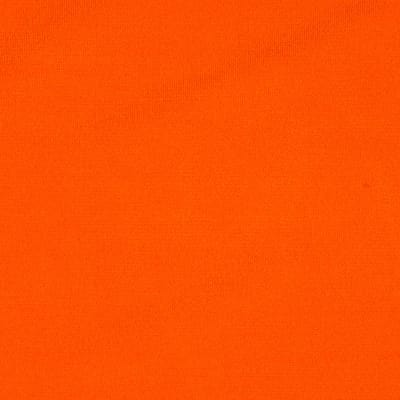 Stretch ITY Matte Jersey Knit Solid Tangerine