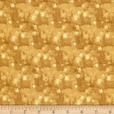 Quilting Treasures Native Pine Tonal Texture Gold