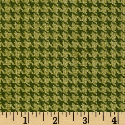 Whitetail Ridge Houndstooth Green