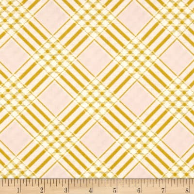 Heather Bailey Ginger Snap Coat Check Pink
