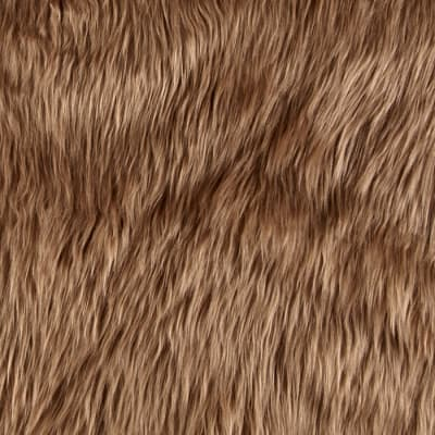 Shannon Faux Fur Luxury Shag Cocoa