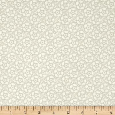 Butterfly Botanical Tonal Floral Grey
