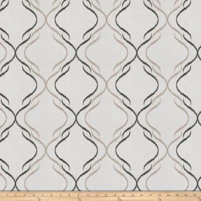 Fabricut  Embroidered Perseus Charcoal