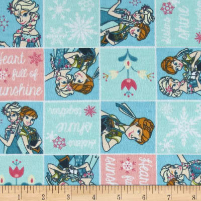 Disney Frozen Forever Flannel Sisters Frozen Fever Patch