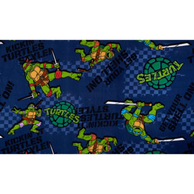 Nickelodeon Teenage Mutant Ninja Turtles Fleece Kickin It