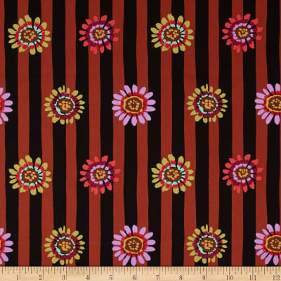 Kaffe Fassett Sateen Regency Brown