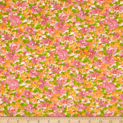 Louisa Cotton Poly Broadcloth Pansy