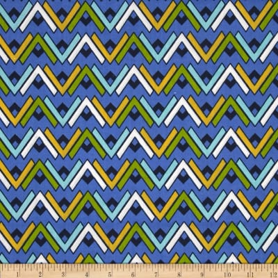 Southwest Cotton Poly Broadcloth Lagoon