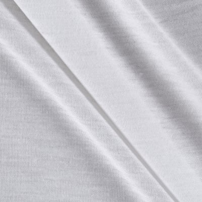 The White Collection Rayon Nylon Jersey Knit