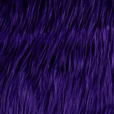 Shannon Faux Fur Gorilla Purple