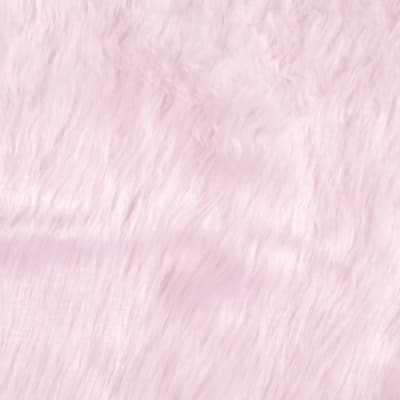 Faux Fur Monkey Baby Pink
