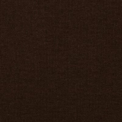 Fabric Merchants T-Knit Ribbing Chocolate Brown