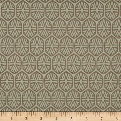 Market Road Medallions Grey/Brown