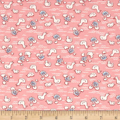 Storybook Vacation Duck Pond Pink