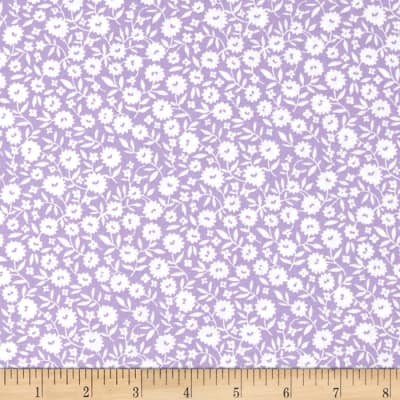Storybook Vacation Fancy Flower Purple