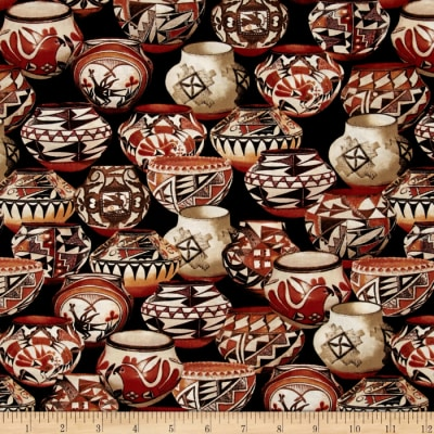 Trading Post Packed Pottery Black