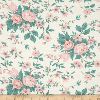 Moda Kindred Spirits Antique Floral Ivory
