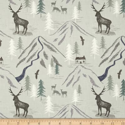 Lewis & Irene The Glen Royal Stag Light Grey