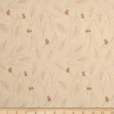 Lewis & Irene Autumn Fields Filed Mouse Cream