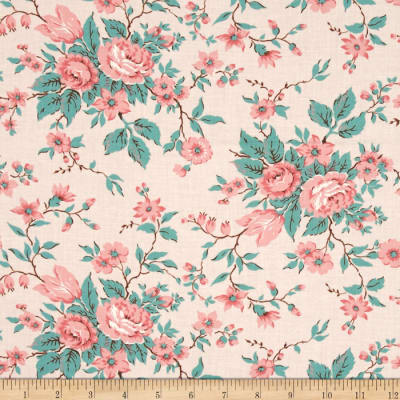 Moda Kindred Spirits Antique Floral Pink