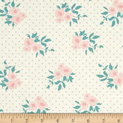 Moda Kindred Spirits Medium Floral Ivory