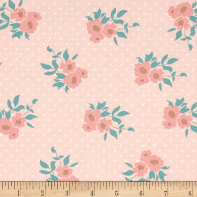 Moda Kindred Spirits Medium Floral Pink