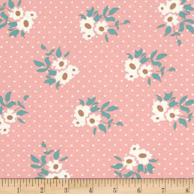Moda Kindred Spirits Medium Floral Rose