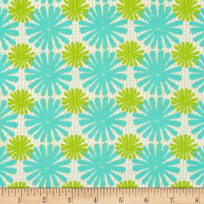 Moda Good Karma Burst Aqua - Green