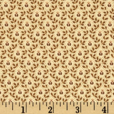 Moda Alice's Scrapbag Grandmother's Pelisse Tonal Antique Tan