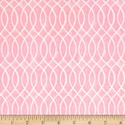 Moda Hugaboo Laced Lined Twirly Pink