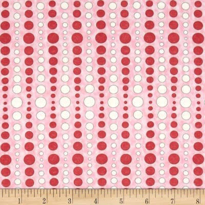 Moda Hugaboo Dot To Dot Twirly Pink
