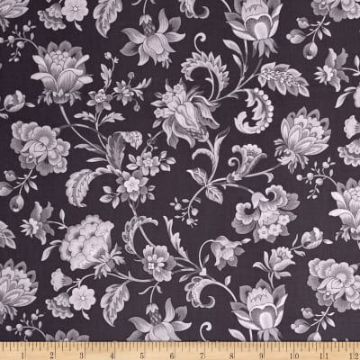 Gracious Skies Jacoban Floral Black/Grey