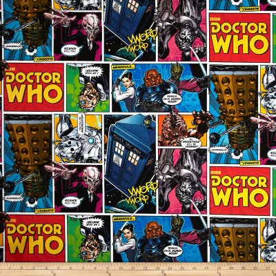 Doctor Who Comics Multi