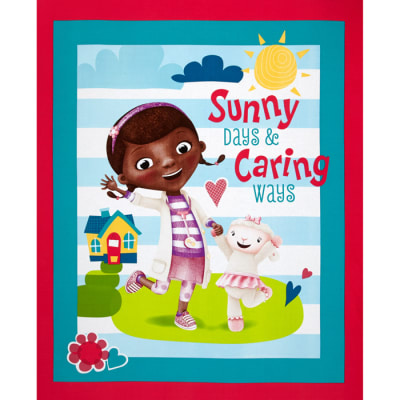 Disney Doc McStuffins Sunny Days and Caring Ways Panel-36""