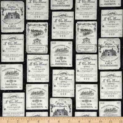 Kaufman Vineyard Wine Labels Antique