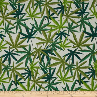 Alexander Henry Nicole's Prints Herb Natural/Green