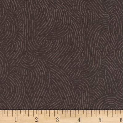 """Westrade 110"""" Wide Flannel Quilt Backing Seacoast Brown"""