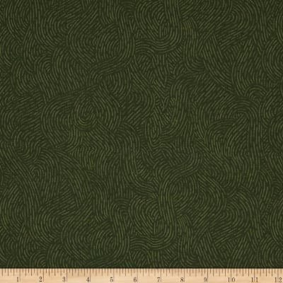"""110"""" Wide Flannel Quilt Backing Seacoast Olive"""