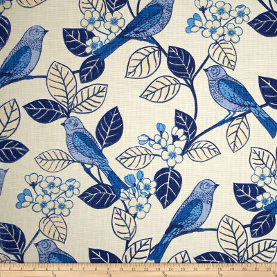 Home Accent Chickadee Blue Willow