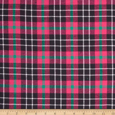 Windstar Flannel Plaid Fuchsia