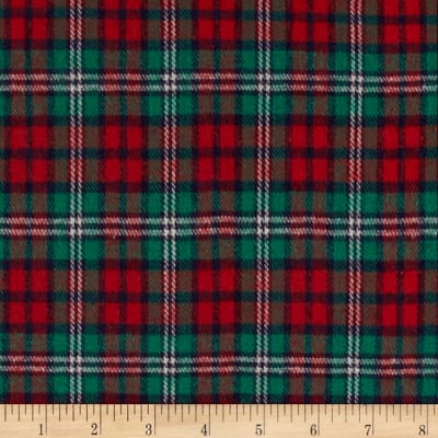 Windstar Flannel Plaid Red/Green