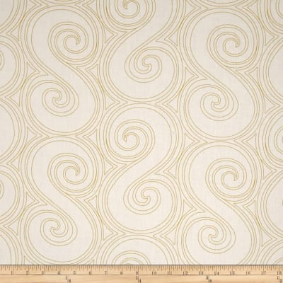 """Kaufman 108"""" Wide Quilt Back Drawn Wide Large Scroll Pickle"""